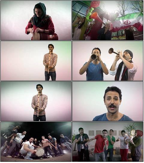 دانلود موزیک ویدئو جدید عجم باند به نام گل ایران