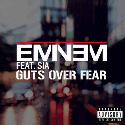 دانلود آهنگ Eminem و Sia به نام Guts Over Fear