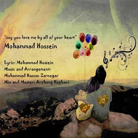 دانلود آهنگ محمد حسین به نام بگو قلبا دوسم داری