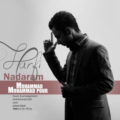 دانلود آهنگ محمد محمدپور به نام حرفی ندارم