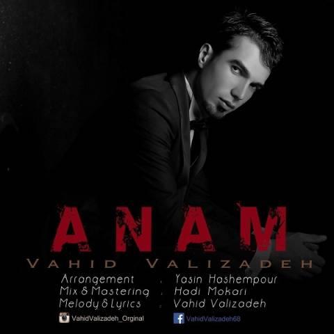 دانلود آهنگ جدید وحید علیزاده به نام آنام