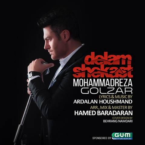محمدرضا گلزار دلم شکست | دانلود آهنگ محمدرضا گلزار به نام دلم شکست + متن ترانه