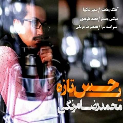 دانلود آهنگ محمدرضا مرنگی به نام یه حس تازه