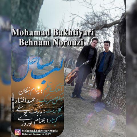 دانلود آهنگ جدید محمد بختیاری و بهنام نوروزی به نام لب ساحل