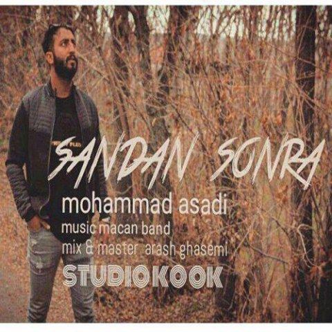 دانلود آهنگ محمد اسدی به نام سندن سونرا