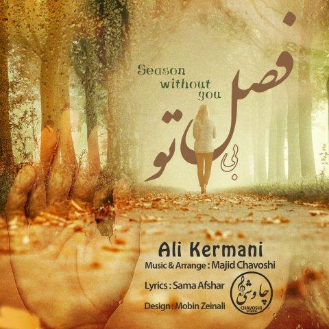دانلود آهنگ علی کرمانی به نام فصل بی تو