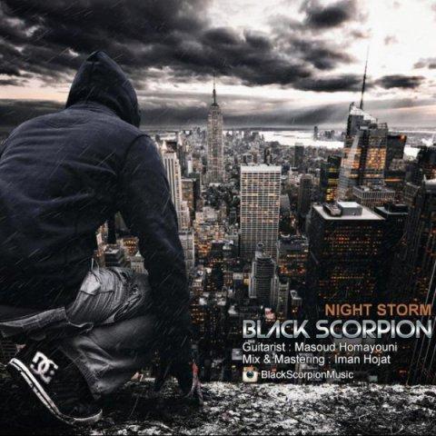 دانلود آهنگ Black Scorpion به نام Night Storm