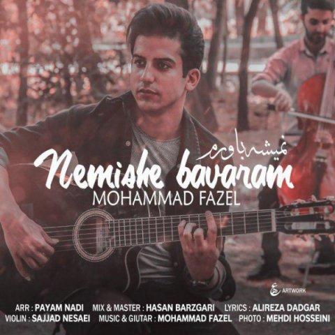 دانلود آهنگ محمد فاضل به نام نمیشه باورم