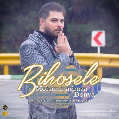 محمدرضا دنیا بی حوصله | دانلود آهنگ محمدرضا دنیا به نام بی حوصله