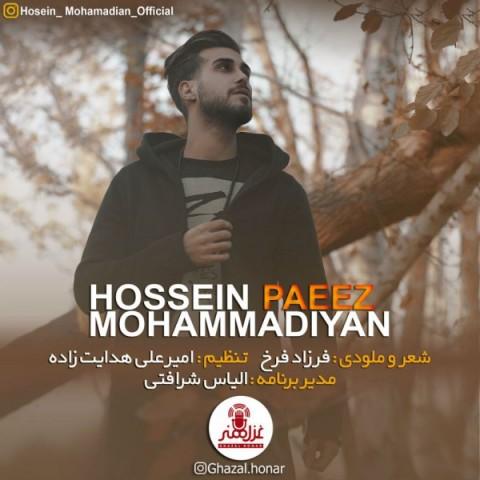 حسین محمدیان پاییز | دانلود آهنگ حسین محمدیان به نام پاییز