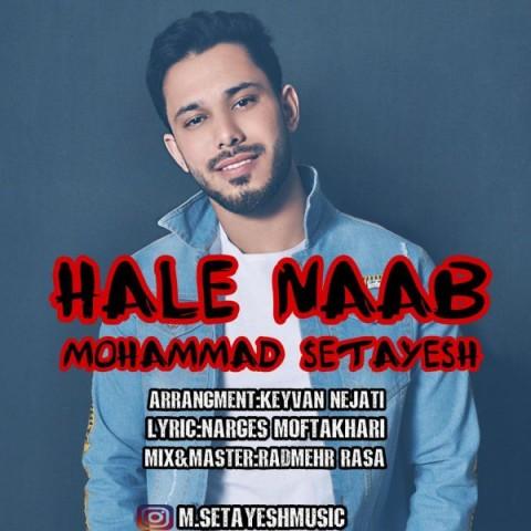 محمد ستایش حال ناب | دانلود آهنگ محمد ستایش به نام حال ناب