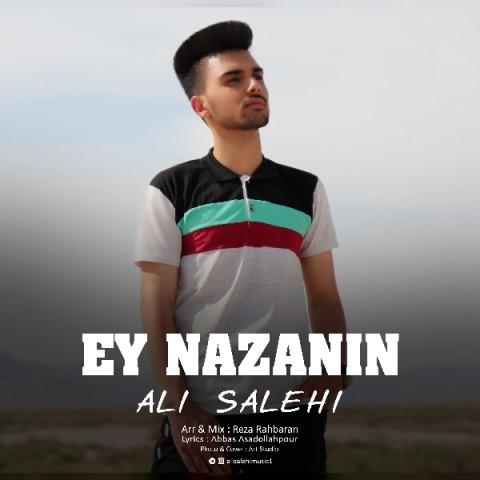 علی صالحی ای نازنین | دانلود آهنگ علی صالحی به نام ای نازنین