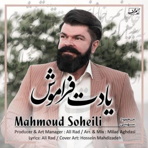 محمود سهیلی یادت فراموش   دانلود آهنگ محمود سهیلی به نام یادت فراموش