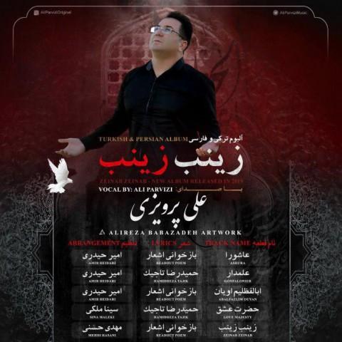 علی پرویزی زینب زینب | دانلود آلبوم علی پرویزی به نام زینب زینب