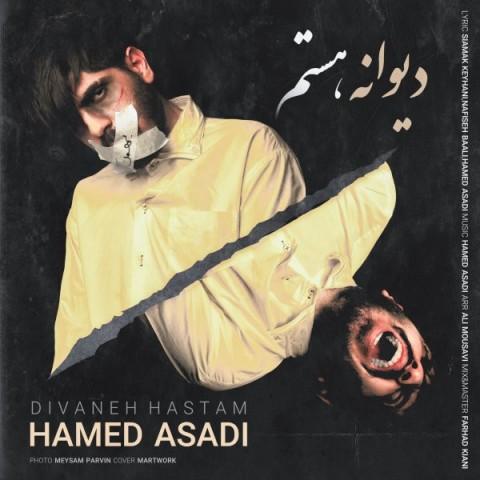 دانلود آهنگ جدید حامد اسدی دیوانه هستم