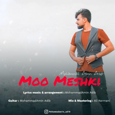 دانلود آهنگ جدید محمد امین ادیب مو مشکی