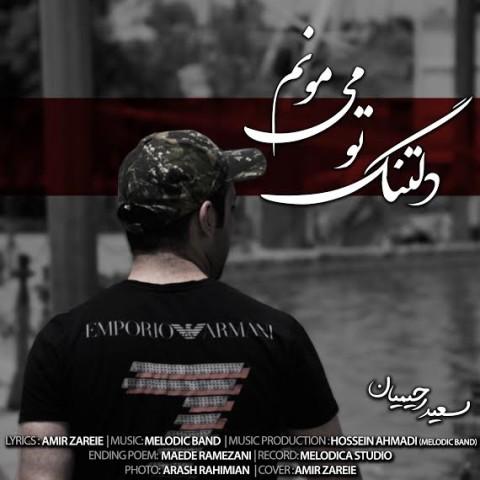 دانلود آهنگ جدید سعید رحیمیان دلتنگ تو می مونم