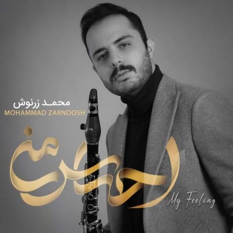 دانلود آلبوم محمد زرنوش به نام احساس من